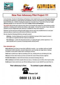 Peer Advocacy Te Ara Korowai